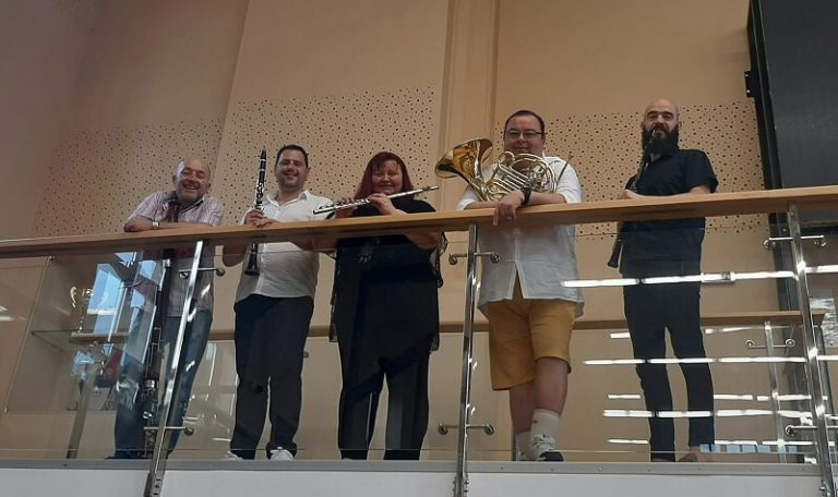 Представителен Духов Квинтет на Опера Варна