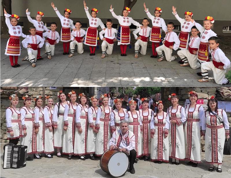 Фолклорен концерт в Дряново